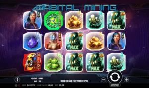 Jocul de cazino online Orbital Mining gratuit