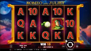 Jocuri Pacanele Romeo and Juliet Online Gratis