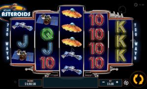 Joaca gratis pacanele Asteroids online