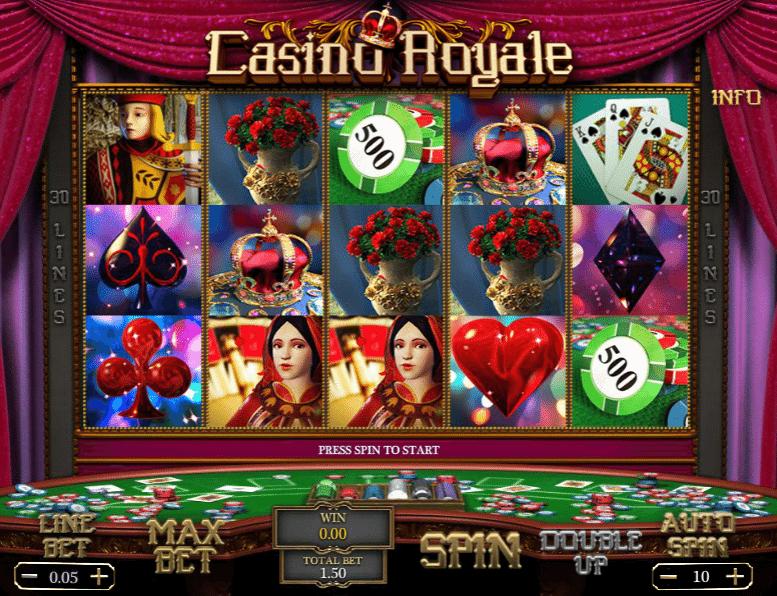Casino royale online subtitulada gratis