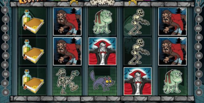 Joaca gratis pacanele Crypt Keeper online