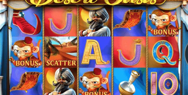 Joaca gratis pacanele Desert Oasis online