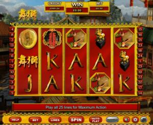 Joaca gratis pacanele Lion Dance online