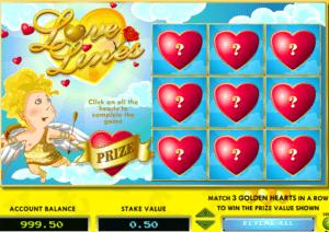 Joaca gratis pacanele Love Lines online