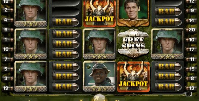 Jocul de cazino online Platoon Wild Progressive gratuit