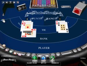 Joaca gratis pacanele Punto Banco online