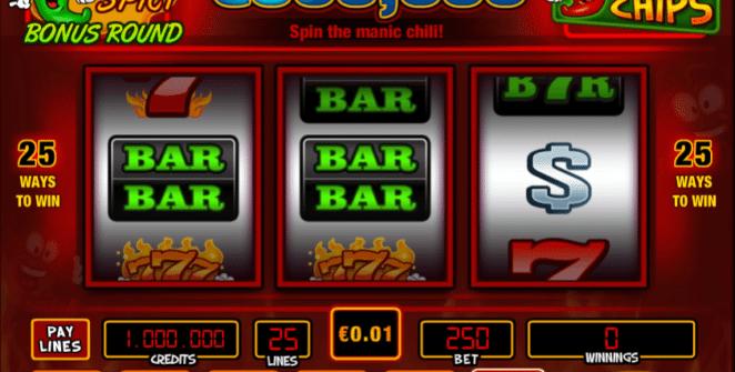 Jocul de cazino online Red Hot Chili Chips gratuit