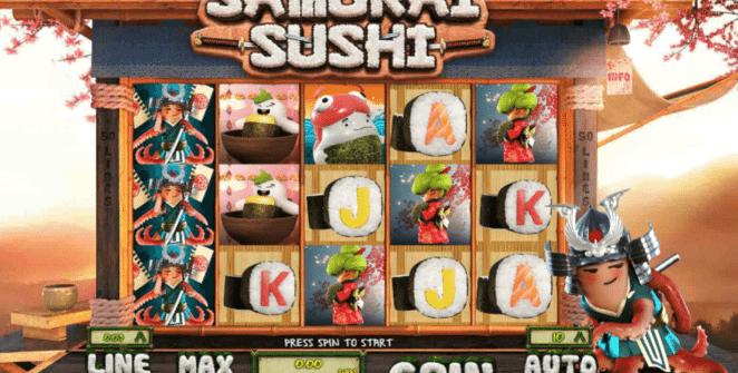 Jocul de cazino online Samurai Sushi gratuit
