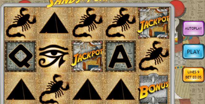 Joaca gratis pacanele Sands Of Fortune online