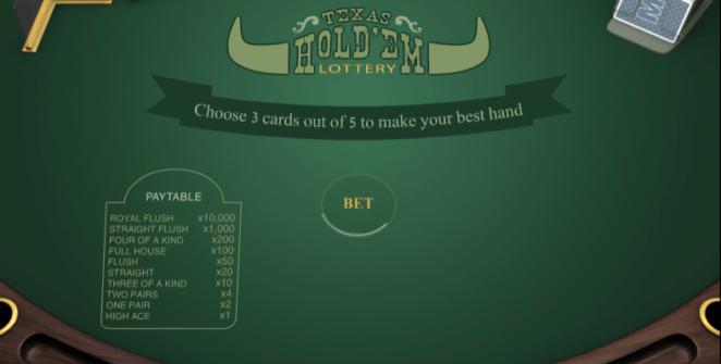 Jocul de cazino online Texas Holdem PariPlay gratuit