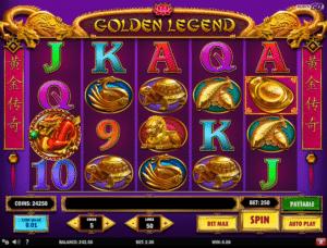 Golden Legend gratis joc ca la aparate online