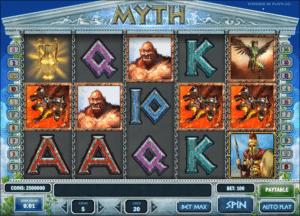 Myth gratis joc ca la aparate online