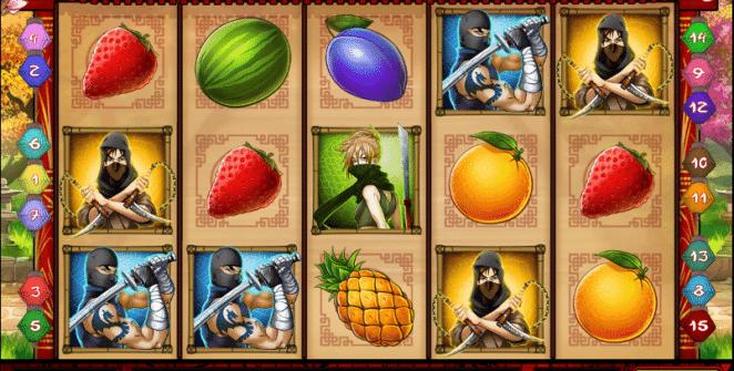 Jocul de cazino onlineNinja Fruitsgratuit