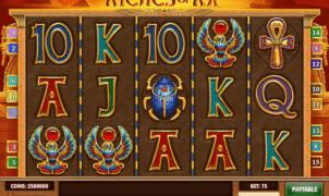 Joaca gratis pacanele Riches of Ra online