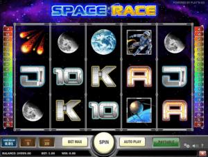Jocuri Pacanele Space Race Online Gratis