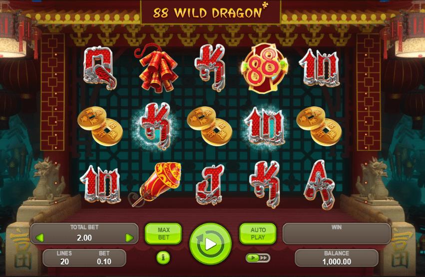 казино игра где из клетки вылетает дракон