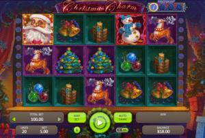 Joaca gratis pacanele Christmas Charm online