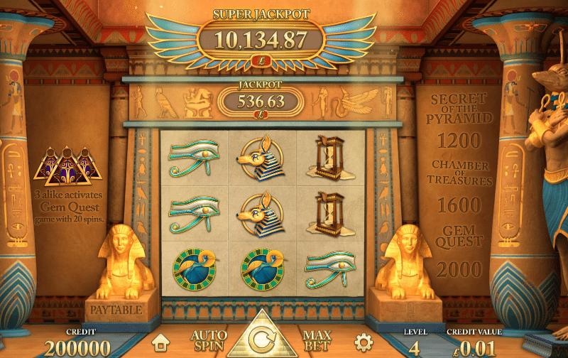 Jocuri Pacanele Golden Pyramid Online Gratis