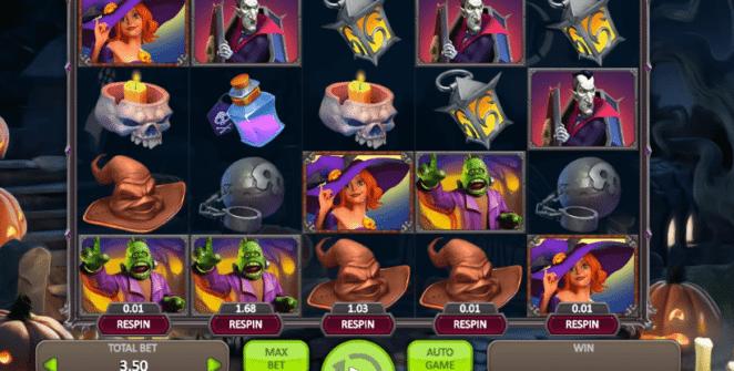 Joaca gratis pacaneleHalloween Witch online