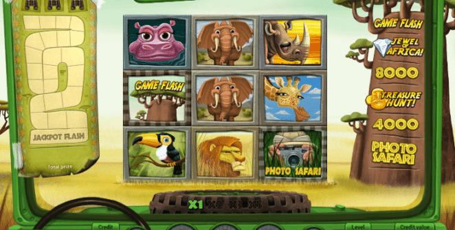 Joaca gratis pacanele Safari online