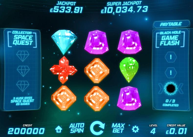 Jocuri Pacanele Space Gems Online Gratis