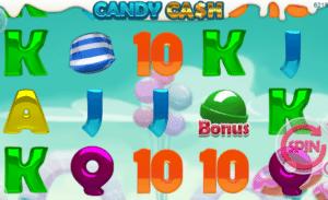 Joaca gratis pacanele Candy Cash online