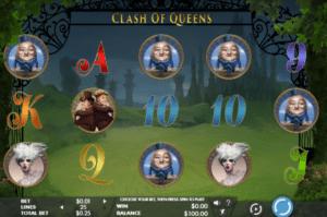 Joaca gratis pacanele Clash of Queens online