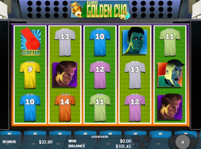 Joaca gratis pacanele Euro Golden Cup online