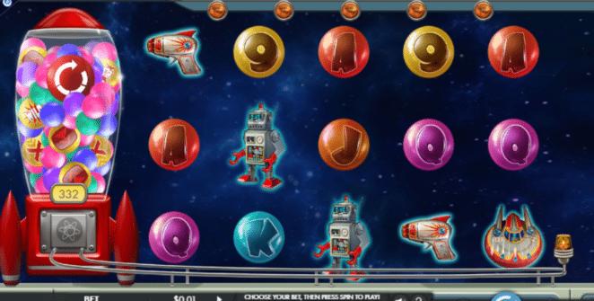 Joaca gratis pacanele Gumball Blaster online