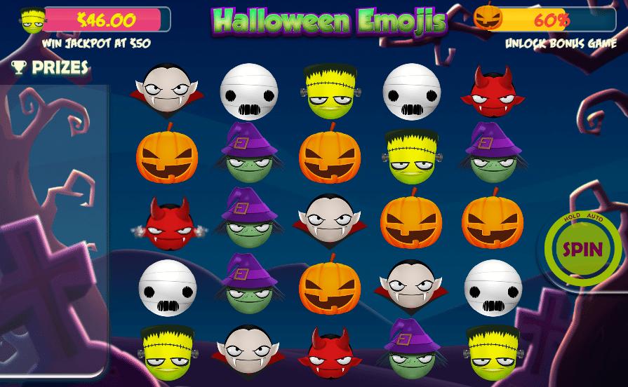 Joaca gratis pacanele Halloween Emojis online