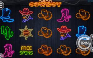 Neon Cowboy gratis joc ca la aparate online
