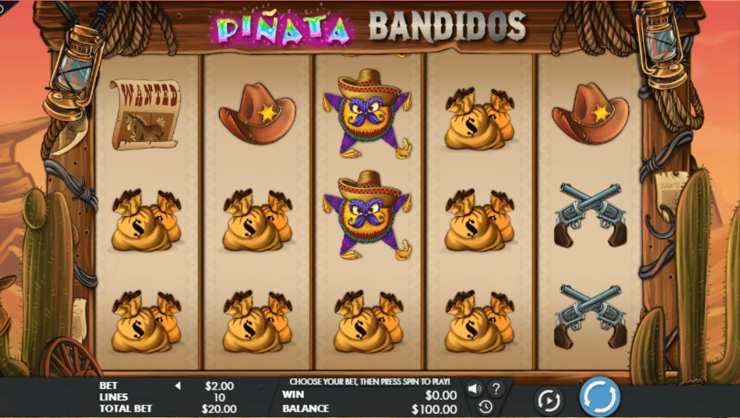 Jocul de cazino onlinePinata Bandidosgratuit