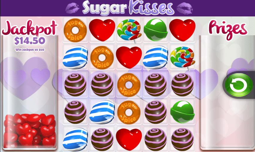 Joaca gratis pacanele Sugar Kisses online