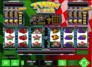 Joaca gratis pacanele Twin Joker online