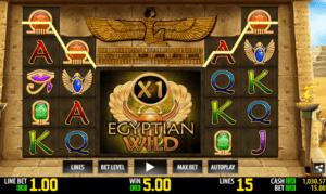 Jocul de cazino online Egyptian Wild gratuit