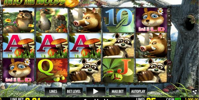 Joaca gratis pacanele Into The Woods online