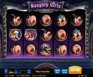 Joaca gratis pacanele Naughty Girls Cabaret online