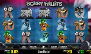 Jocul de cazino online Scary Fruits gratuit