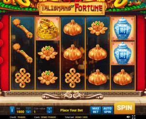 Jocul de cazino online Talismans Of Fortune gratuit