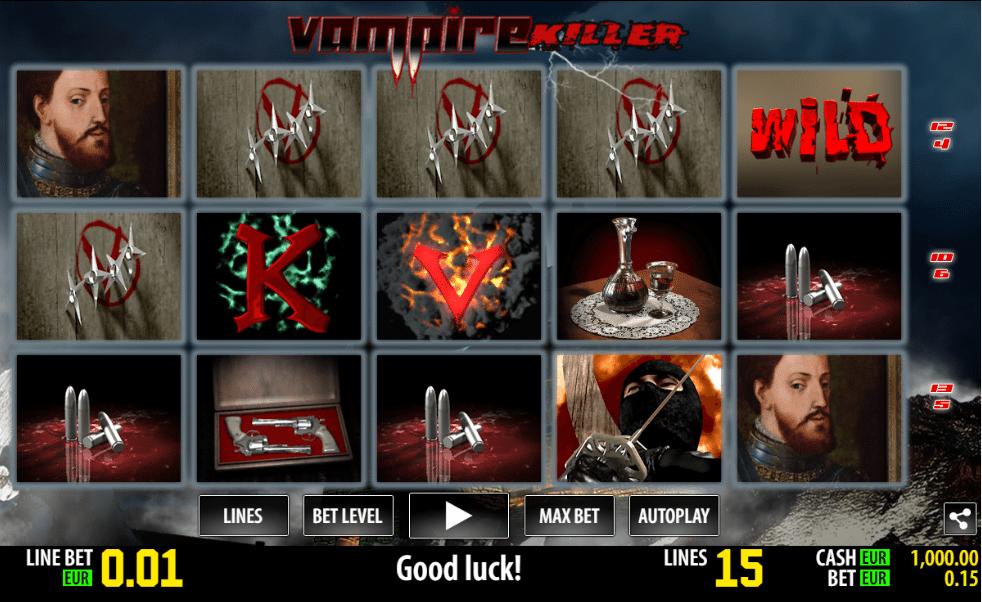Jocul de cazino online Vampire Kliller gratuit