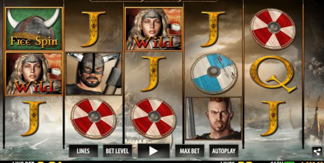 Joaca gratis pacanele Viking Legend online