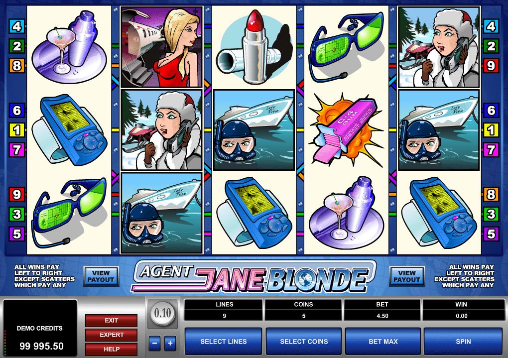Jocul de cazino onlineAgent Jane Blondegratuit
