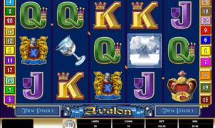Joaca gratis pacanele Avalon online