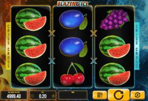 Joaca gratis pacanele Blazing Ice online