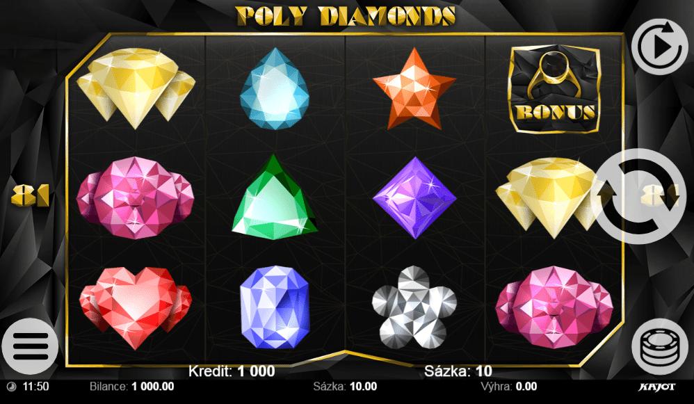 Jocul de cazino online Poly Diamonds gratuit