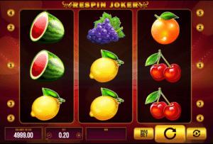 Joaca gratis pacanele Respin Joker online