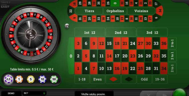 Jocul de cazino onlineRoulette Platinumgratuit
