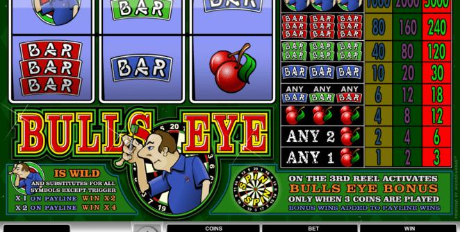 Bulls Eye gratis joc ca la aparate online