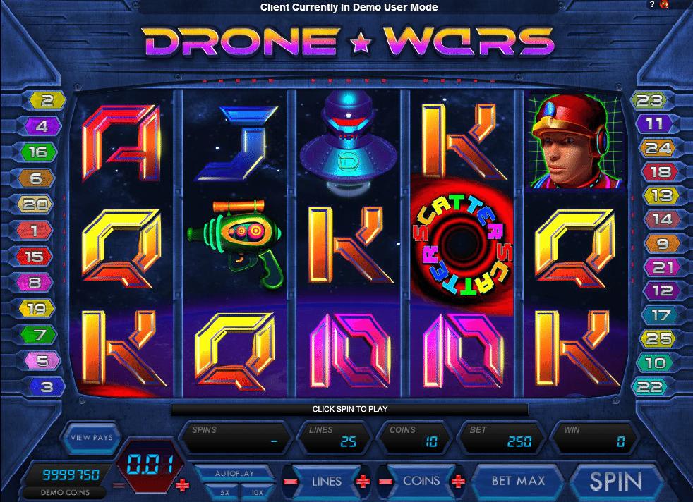 Drone Wars gratis joc ca la aparate online