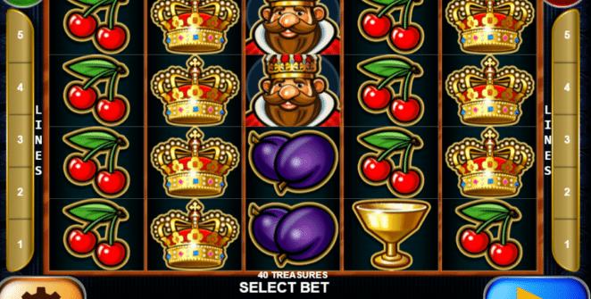40 Treasures gratis joc ca la aparate online